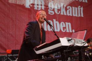Jens Robbers an den Keys